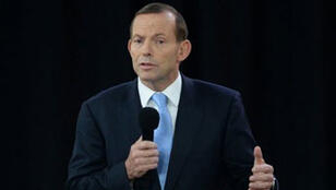 Tony Abbott, le candidat du parti libéral
