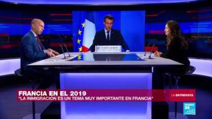 Marc Perelman hace un balance de la gestión del presidente Macron durante 2019.