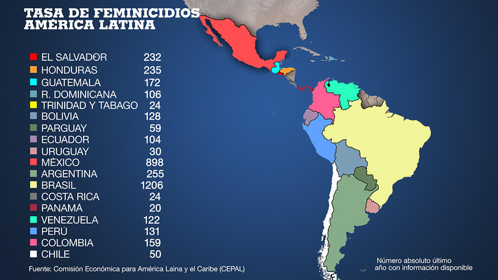 Cartina Fisica America Latina.Las Violencias A Las Que Se Enfrentan Las Mujeres En America Latina No Silencian Sus Voces