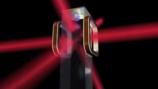Image d'illustration du laboratoire d'atomes froids (CAL) qui sera utilisé à bord de la Station spatiale internationale.
