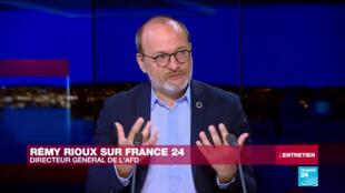 Rémy Rioux, directeur général de l'Agence française de développement