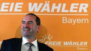 """Hubert Aiwanger, le patron des """"Freie Wähler"""" bavarois, présenti pour diriger la Bavière avec la CSU."""