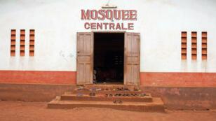 La mosquée de Bangassou en mars 2014.