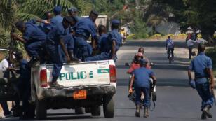 Des policiers burundais à Bujumbura (archives).