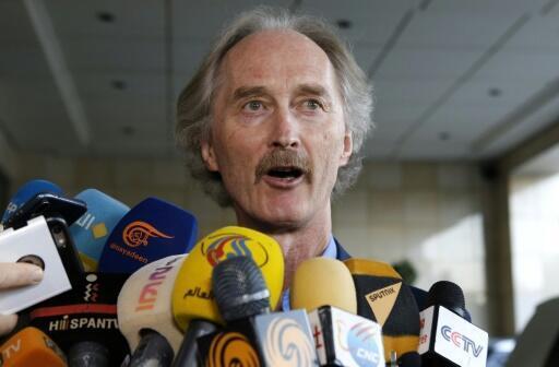 UN Syria envoy arrives in Damascus