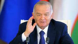 Islam Karimov est à la tête de l'Ouzbékistan depuis son  indépendance en 1991.