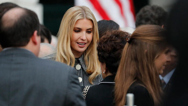 Ivanka Trump, hija mayor del presidente Donald Trump