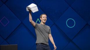 Marck Zuckerberg, patron de Facebook, à la conférence F8 2017.