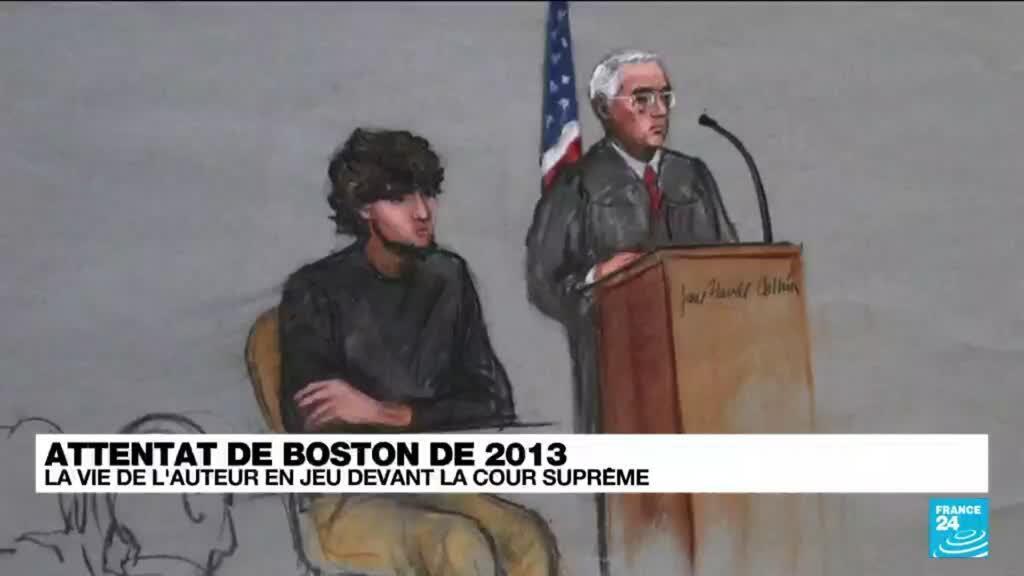 2021-10-13 12:11 Etats-Unis : verdict attendu pour l'auteur de l'attentat de Boston de 2013