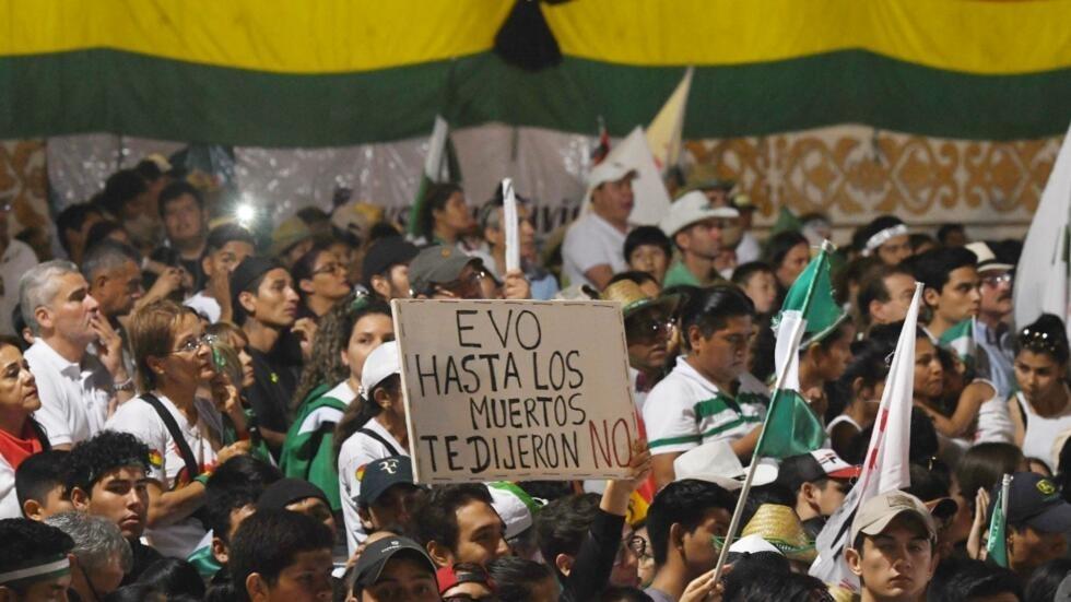 Resultado de imagen para protestas bolivia