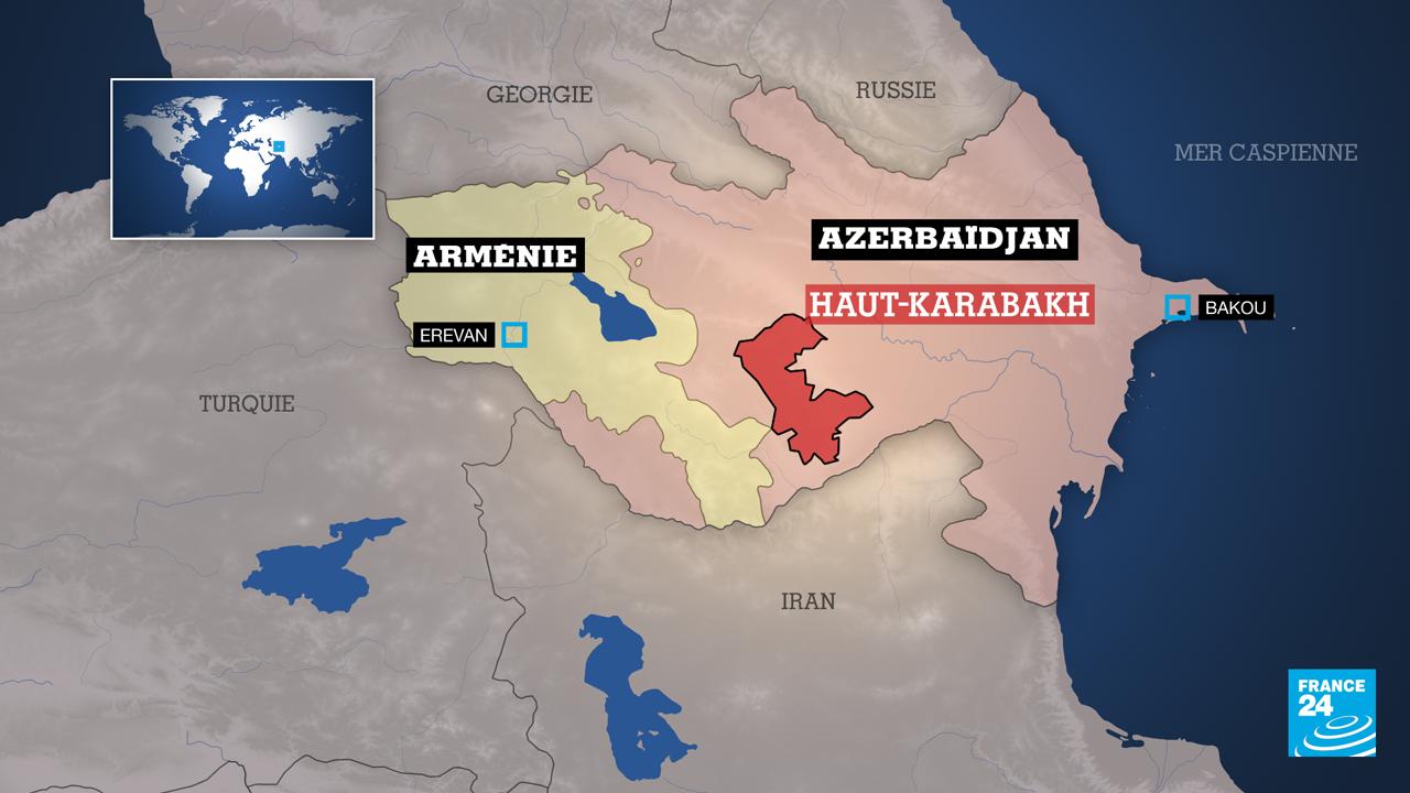 Les combats entre les forces arméniennes et azerbaïdjanaises dans la région séparatiste du Haut-Karabakh ont débuté dimanche 27 septembre.