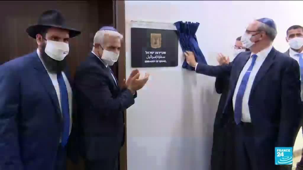 2021-06-29 17:07 Yaïr Lapid aux Emirats arabes unis : inauguration de l'ambassade d'Israël à Abou Dabi