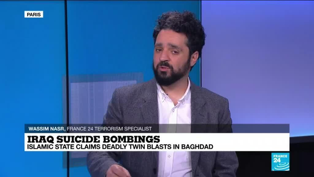 2021-01-22 14:11 Baghdad's double suicide bombing could highlight possible resurgence of Islamic State group