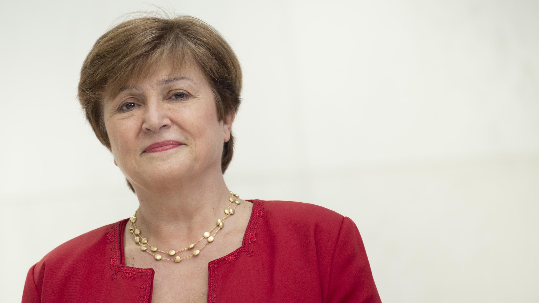 La Bulgare Kristalina Georgieva le 25 septembre 2019 à Washington.