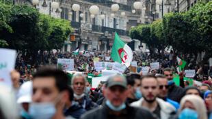 Algeria Hirak protest