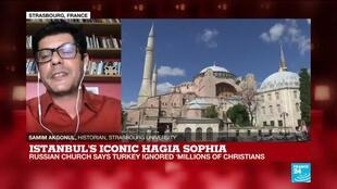 2020-07-10 17:05 Istanbul's Hagia Sophia reconversion to a mosque 'used to divide Erdogan's opposition'
