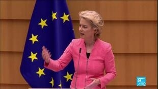2020-09-16 10:01 UE 'State of the Union' speech: Von der Leyen proposes new 2030 target to reduce emissions