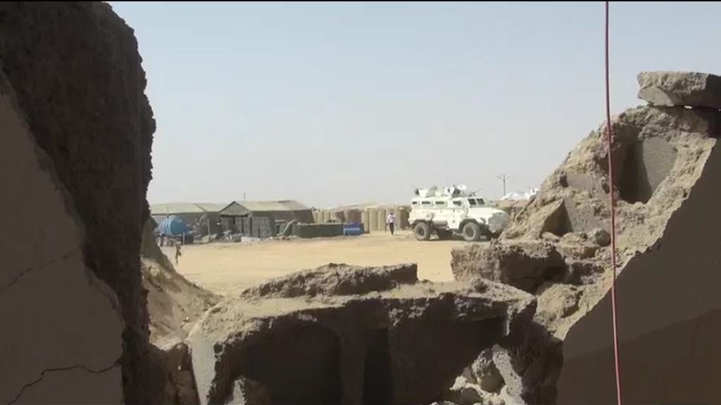 Le camp de la Minusma à Kidal est régulièrement pris pour cible lors d'attaques terroristes.