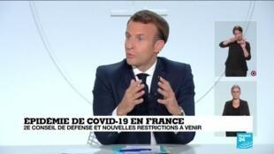 2020-10-28 14:01 Covid-19 en France : avant le verdict de Macron, un reconfinement est l'hypothèse la plus probable