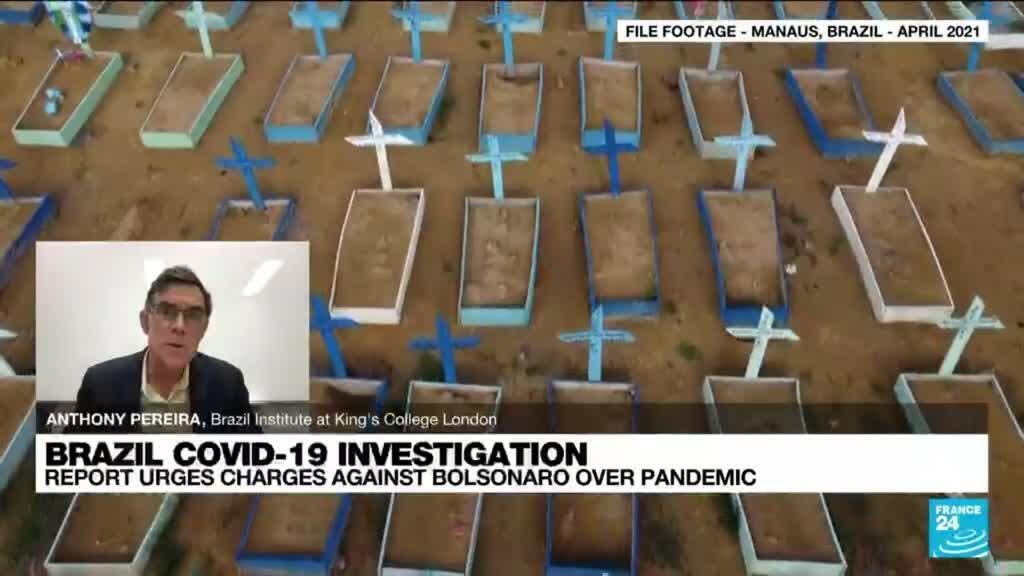 2021-10-20 14:40 Brazil Covid-19 Investigation: 'President's approach was extremely ideological'