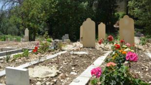 Le cimetière le plus proche qu'a trouvé Sawsan Abou Khaled pour enterrer sa fille se trouve à Tripoli, à 90 km au nord de Beyrouth.