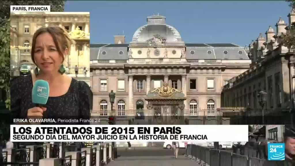 2021-09-09 14:33 Informe desde París: segunda jornada del mayor juicio en la historia de Francia