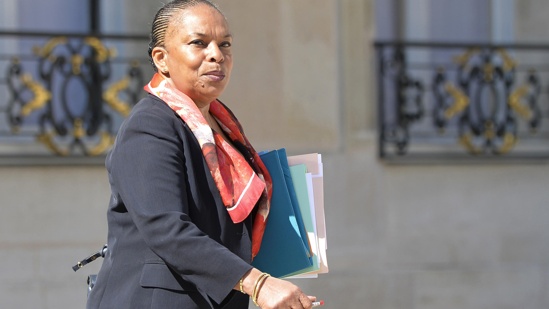 كريستيان توبيرا وزيرة العدل الفرنسية