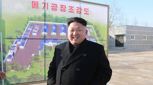 "AFP, KCNA via KNS I This undated picture released from North Korea's official news agency (KCNA) on December 6, 2014 shows North Korean leader Kim Jong-Un, whose dignity was apparently ""hurt"" by a film scheduled to be released by Sony Pictures."