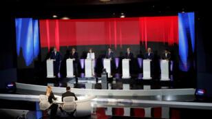 En Panamá los candidatos presidenciales ofrecieron mayores incentivos para la educación y una reforma constitucional. Ciudad de Panamá, 20 de febrero de 2019.