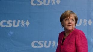 La canciller alemana, Angela Merkel, es favorita en las encuestas para un cuarto mandato.