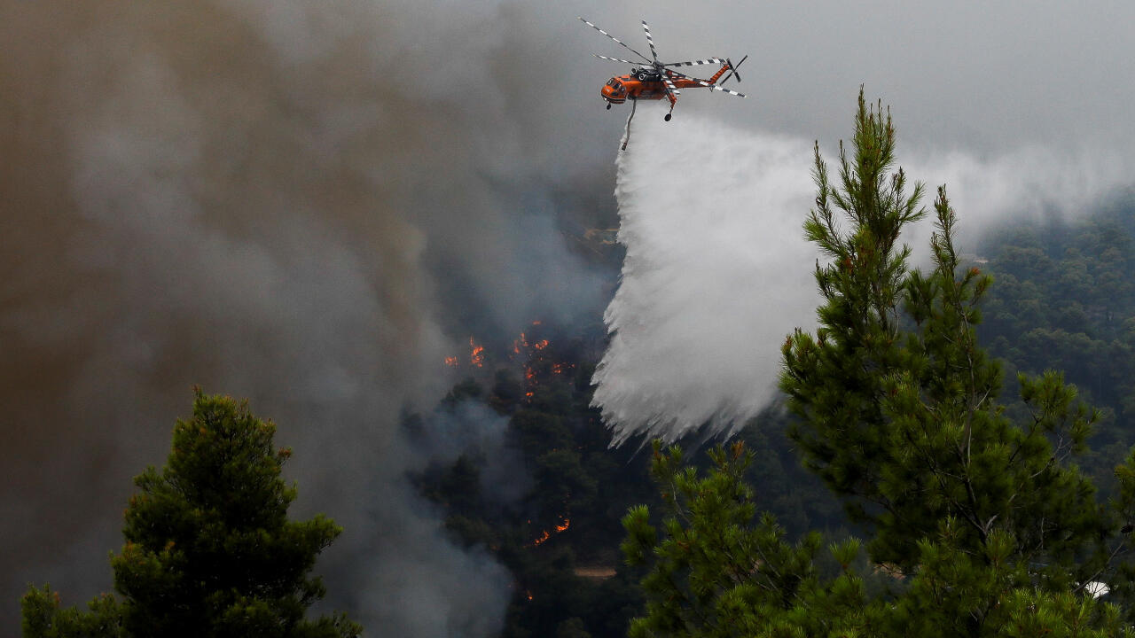 incendios forestales grecia