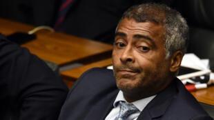 Romario, 51 ans, exerce un mandat de sénateur depuis 2015.