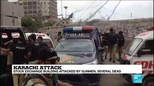 2020-06-29 14:17 Separatist group claims responsibility for Pakistan stock exchange attack