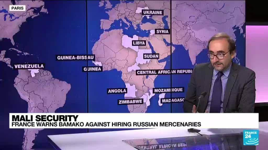 2021-09-15 14:11 Mali security: France warns Bamako against hiring Russian mercenaries