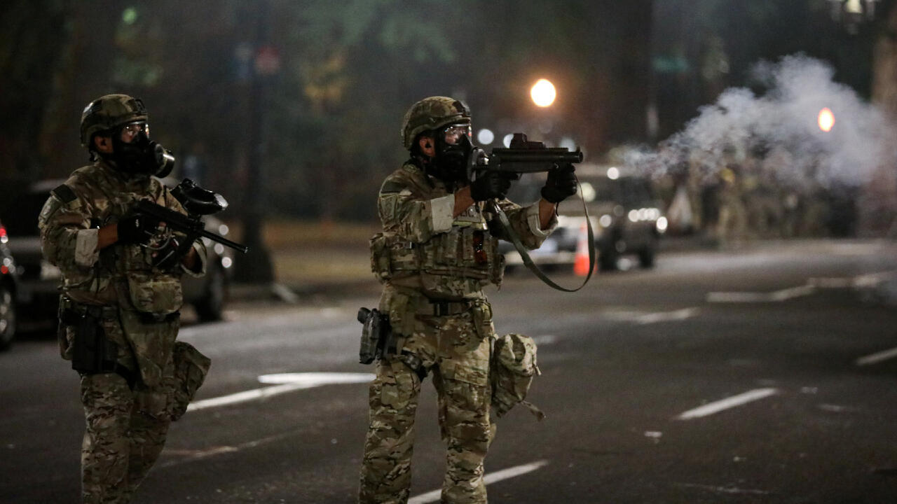 Officiers fédéraux à Portland
