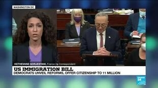 2021-02-19 10:03 Democrats unveil immigration reforms offering US citizenship to 11 million