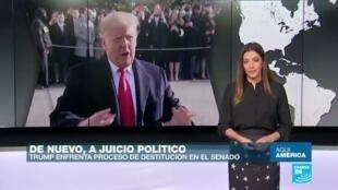 Segundo juicio político a Trump
