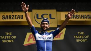 El ciclista colombiano Fernando Gaviria ganó la cuarta etapa del Tour de Francia por delante del eslovaco Peter Sagan.