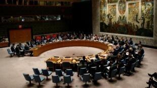 Consejo de Seguridad de la ONU, imágen de archivo.  Marzo 12, 2018.