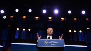Joe Biden à Wilmington le 25 novembre 2020.