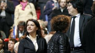 Cécile Duflot et Jean-Vincent Placé, en décembre 2012.