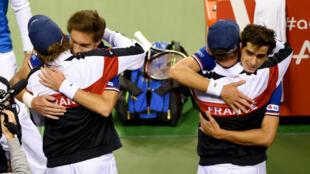 Les Français se sont qualifiés sans problème pour les quarts de finale de la Coupe Davis, après leur victoire face au Japon au 1er tour.