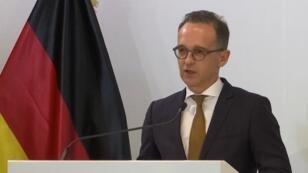 وزير الخارجية الألماني هايكو ماس في الإمارات
