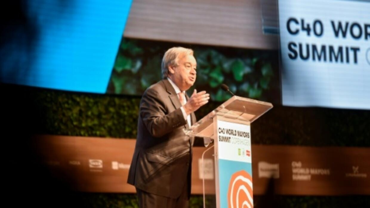 Demand action on climate change, Guterres urges lawmakers, voters