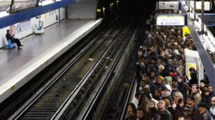 Une grève massive a touché la RATP le 13septembre2019.