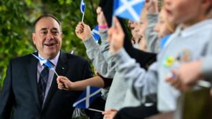Le Premier ministre écossais Alex Salmond.