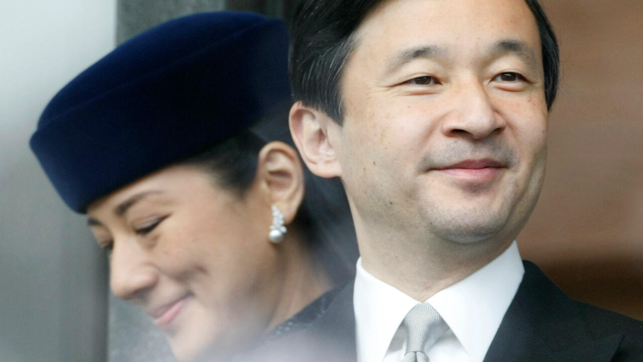 Le prince Naruhito et la princesse Masako à Tokyo, le 23décembre2007.