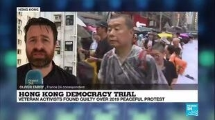 2021-04-01 08:08 7 Hong Kong democracy leaders convicted over 2019 protests