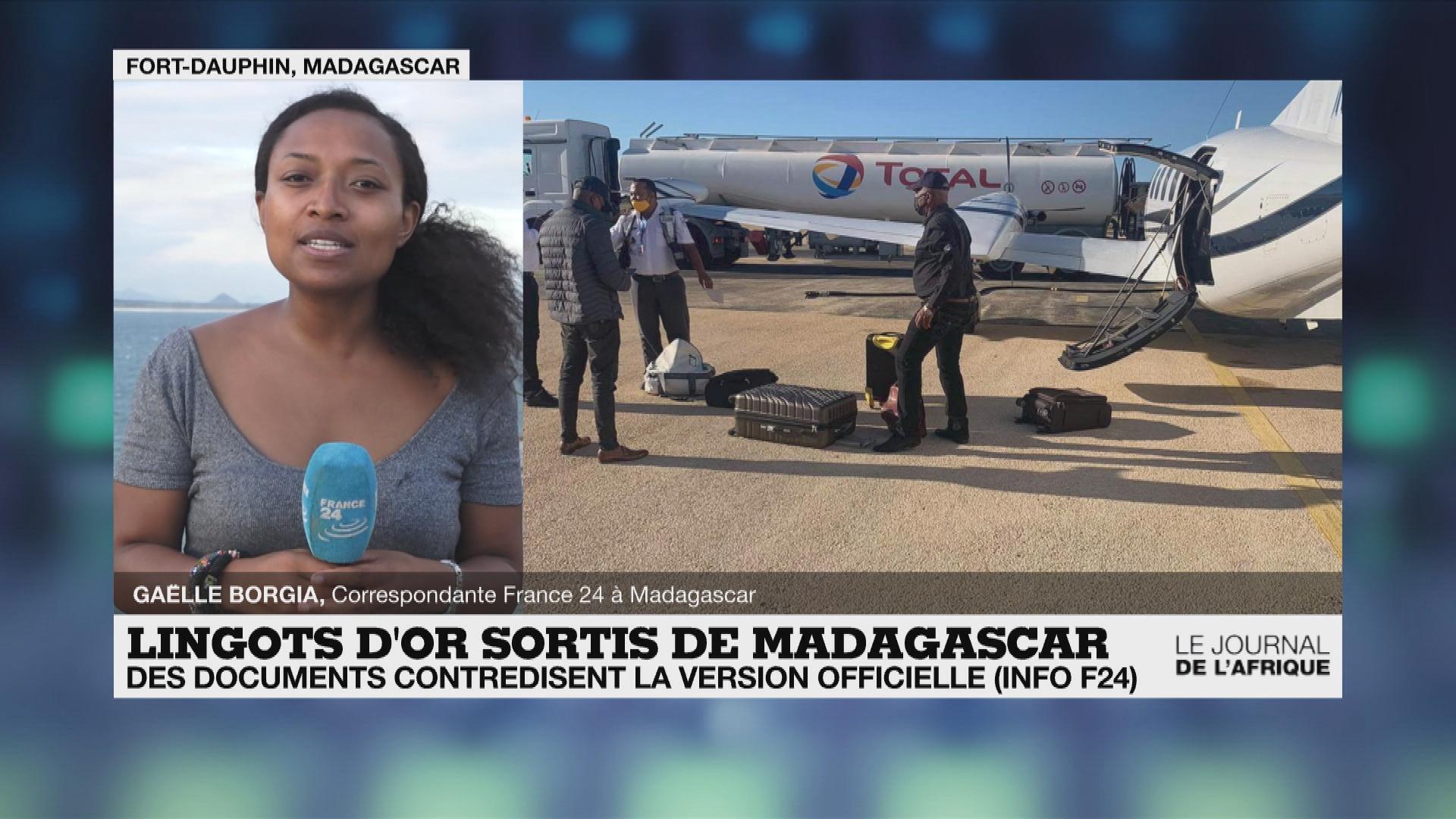 Affaire des lingots d'or à Madagascar : les documents de France 24 contredisent la version officielle
