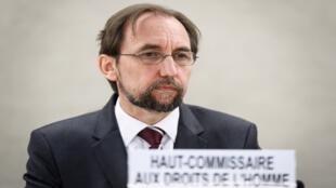 المفوض الأممي السامي لحقوق الإنسان الأمير زيد بن رعد الحسين